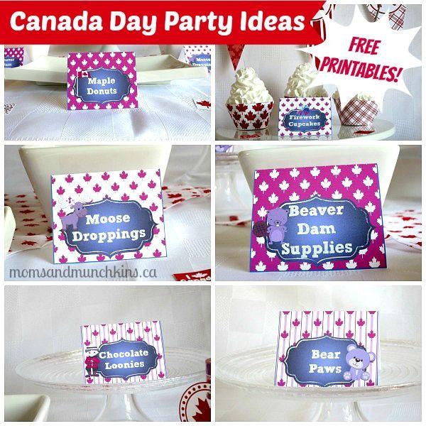 Canada Day Printables (Free Printables) #CanadaDay