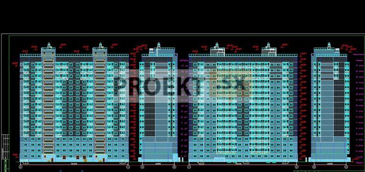 Жилые комплексы : Жилой 18-этажный комплекс