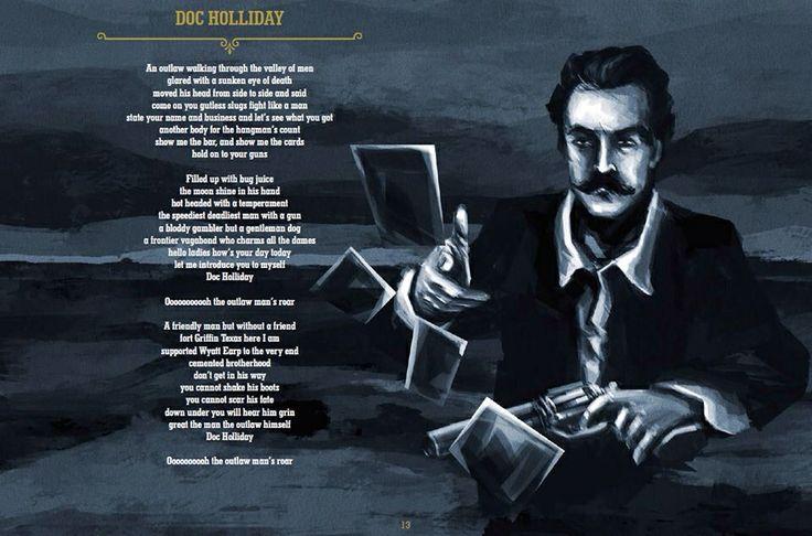Doc Holliday Val Kilmer Tattoo
