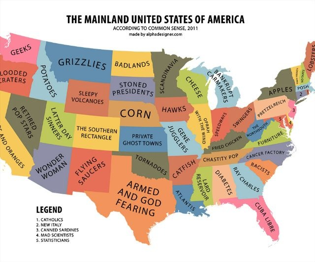 Best Cartoon Maps Images On Pinterest Cartography Geography - Map of us cartoon