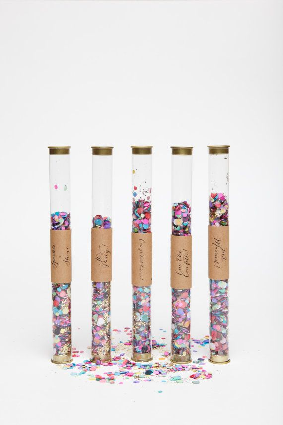 colorful confetti wands  by ohgoodiedesigns on Etsy, $4.50