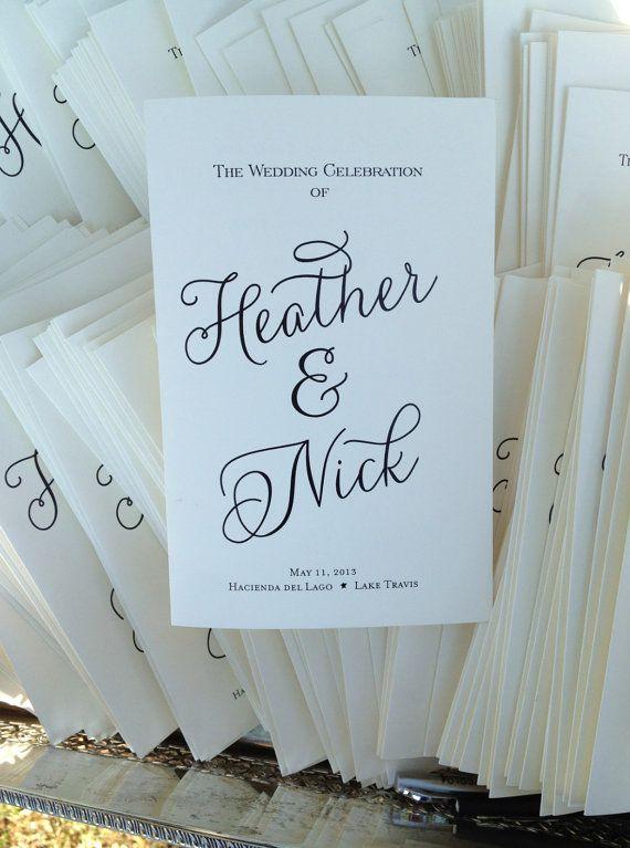 1000 Ideas About Wedding Church Programs On Pinterest