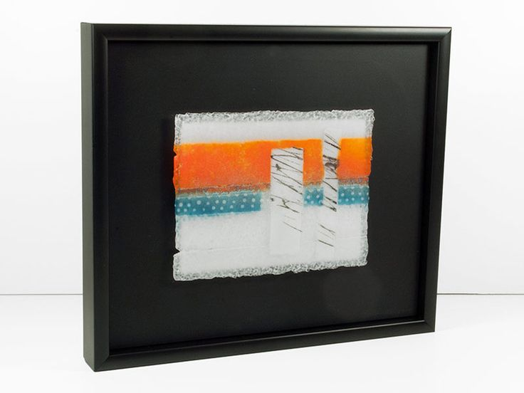 Junction Art Gallery - Jo Newmand 'White Noise Series, IV' http://www.junctionartgallery.co.uk/artists/glass/jo-newman