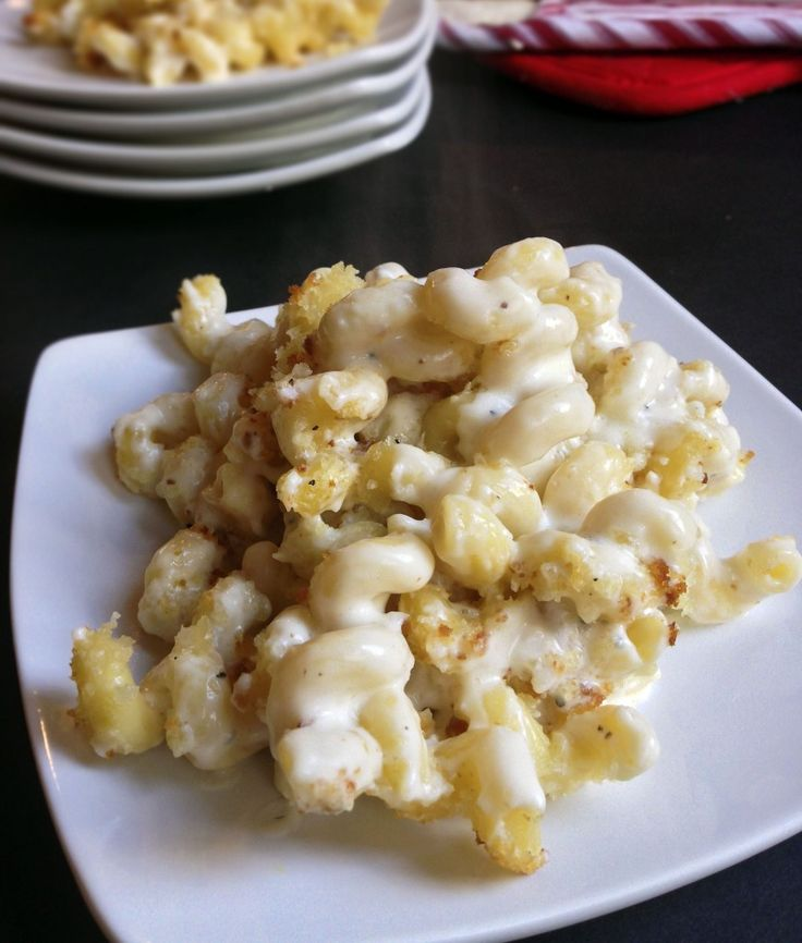Truffle mac and cheese- this was a great recipe but it's a little dry when you eat the leftovers, so I think it needs more cheese or less cavatappi. Use the maximum amount of truffle oil too.