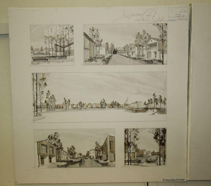 Что творят в Академии художеств? Студенческие работы со дня открытых дверей