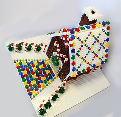 Permalink to How To Build A Gingerbread House