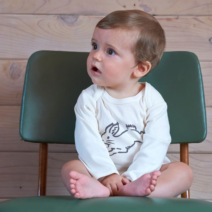 Long Sleeve Bodytop | Natural Organic Bio Baby Products: Organic Cotton & Merino Wool