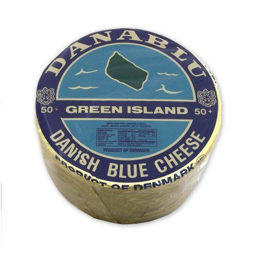 Approx. 6 lbs / 2.7kg Cow's milk cheese Aged for 10 weeks Danish Blue Cheese - Approx. 6 Lb-Wheel