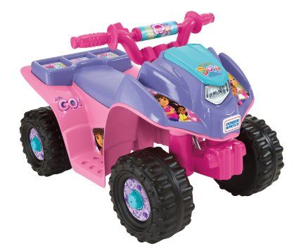 Power Wheels Nickelodeon Dora & Friends Lil Quad Toy for Kids (Dora And Friends from Nickelodeon)