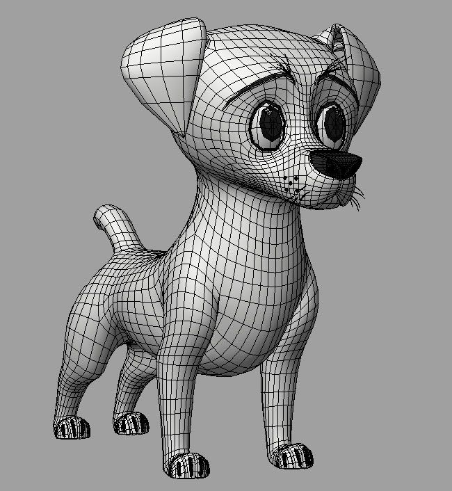 Angela Ensele: Madagascar 3 : Dog