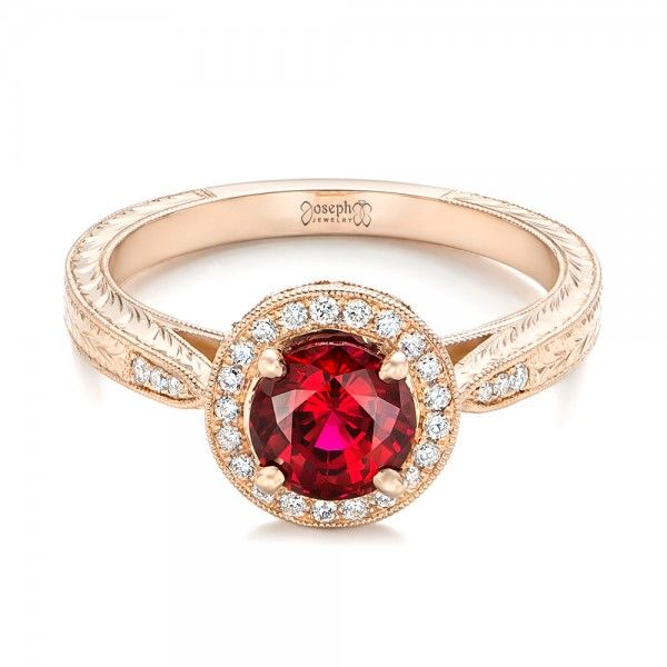 Design Your Own Ruby Engagement Ring Online