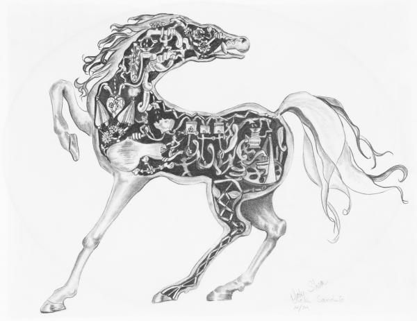 481 best Coloring pages Horse adult coloring images on