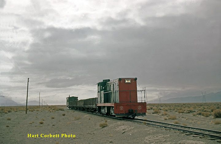 Diesel #1 | Southern Pacific Narrow Gauge Owens Valley ...