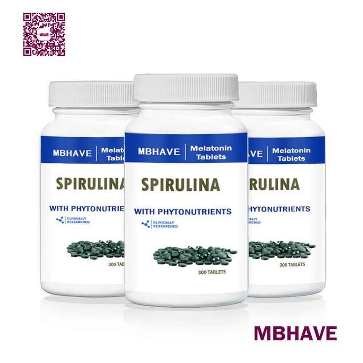 [Visit to Buy] Weight control and weight loss 3 Bottles Natural Pollution Free shipping MBHAVE Organic Spirulina 250mg 300tablets  multivitamin #Advertisement