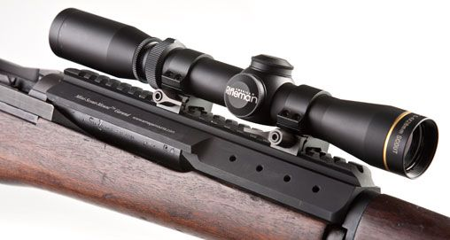 Scout Scope Mounts For M1 Garand Rifles