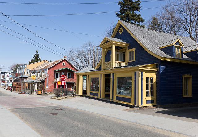 Rue principale - Baie-St-Paul, Charlevoix