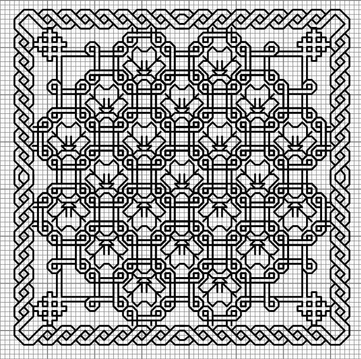 Gallery.ru / Photo # 10 - Plans style Blekvork, Blackwork - WhiteAngel