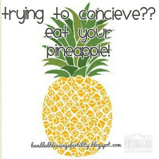 Bundled Blessings Fertility Foundation: Pineapple as a Miracle Fruit?