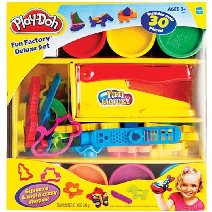 Play-Doh Fun Factory Deluxe 30 Piece Set