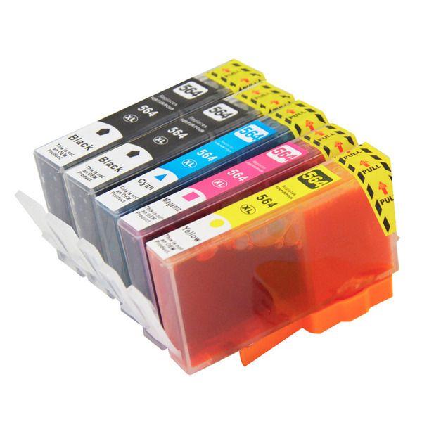 HP 564XL Compatible Inkjet Set 5 Cartridges [Boxed Set]