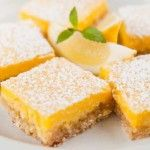 Low Fat Lemon Bars | Weight watcher recipes | Pinterest | Lemon Bars ...