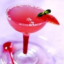 Rosa cocktail med Florida grapefrukt och mynta