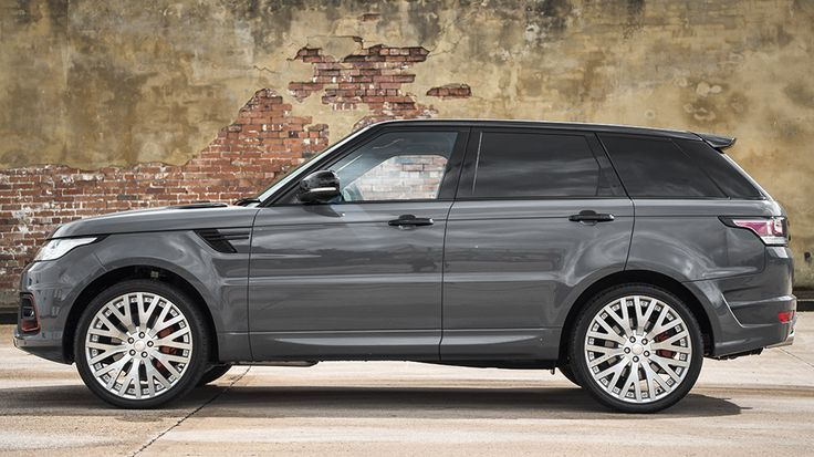Project Kahn Paris Grey Range Rover Sport HSE 400 LE  #cars #suv #luxury #cartuning #customcars   See More >> http://www.motoringexposure.com/aftermarket-tuned/