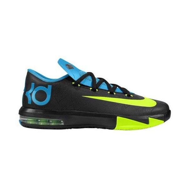 Nike KD VI Boys' Grade School ($100) ❤ liked on Polyvore featuring shoes, nike and sneakers