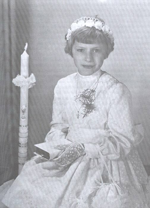 Anneliese Michel, as a beautiful young child before her body was possessed by Demon's.