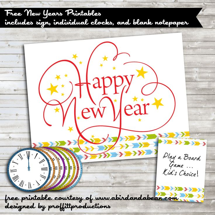 19 best DIYNew Years EveParty ideasfree printables images on – Free Printable New Years Eve Party Invitations