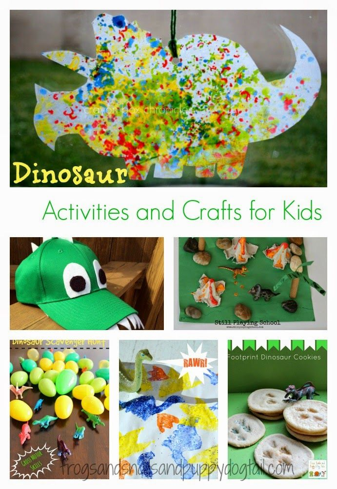 Dinosaur Activities and Crafts for Kids - FSPDT