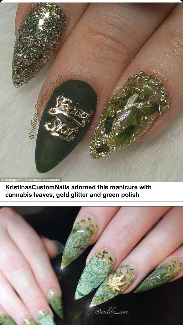 Uñas de Marijuana