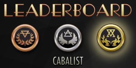Cabalist Leaderboard Embedded image permalink
