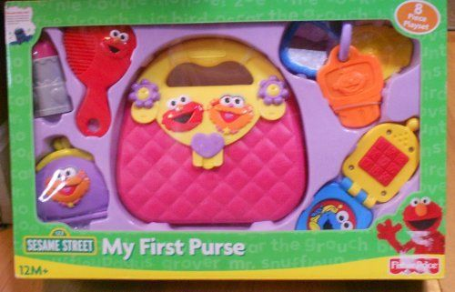 Sesame Street My First Purse By Fisher Price 39 99