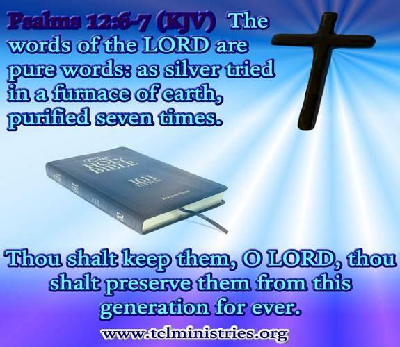 PSALMS 12: 6-7