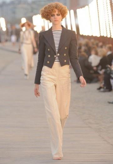 Chanel completo marinaio