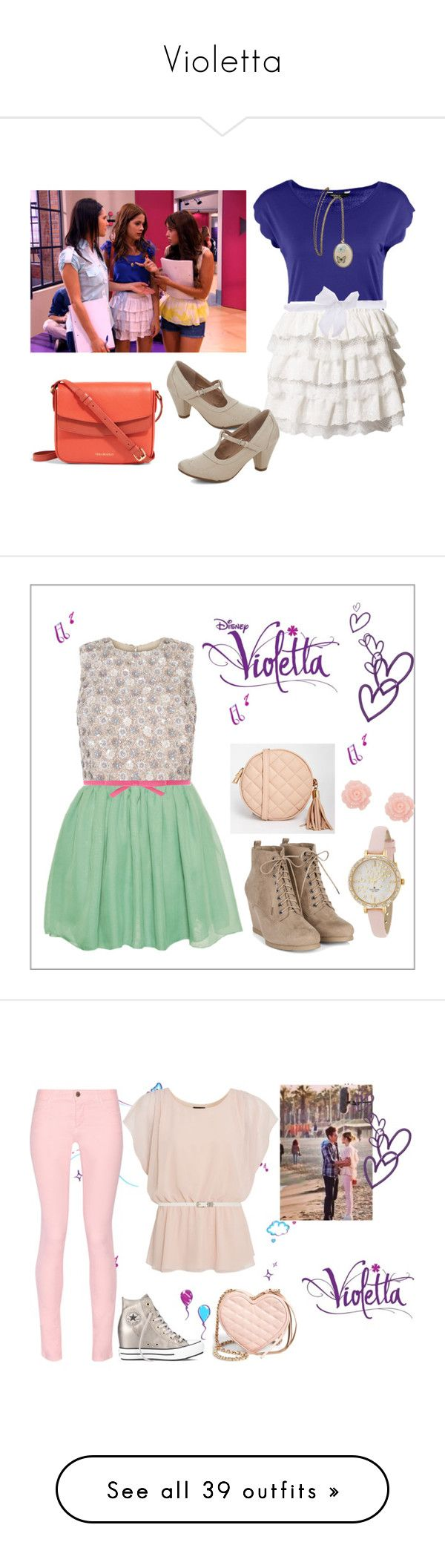 """""""Violetta"""" by stylewiktoria ❤ liked on Polyvore featuring Dorothy Perkins, Molly Bracken, Chelsea Crew, Vera Bradley, Hearts & Bows, Kate Spade, White House Black Market, ASOS, ANNA and Ultimo"""