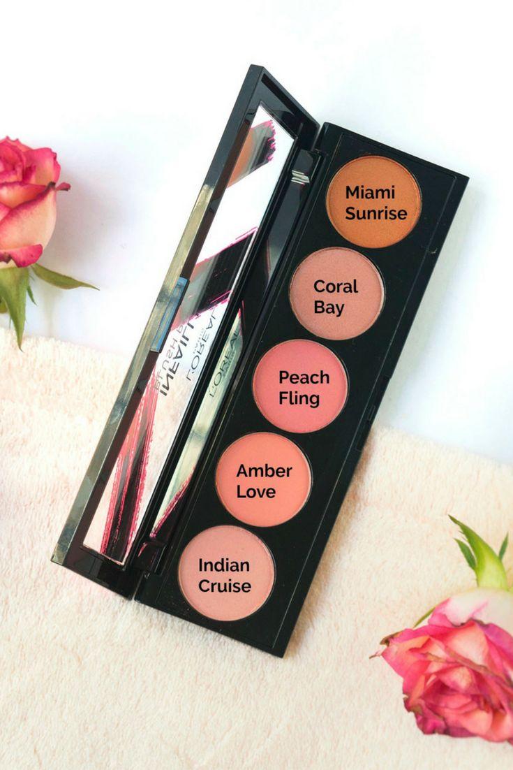 Prima mea paleta de blush-uri: L'Oreal Infaillible Blush Paint Palette (Ambers)