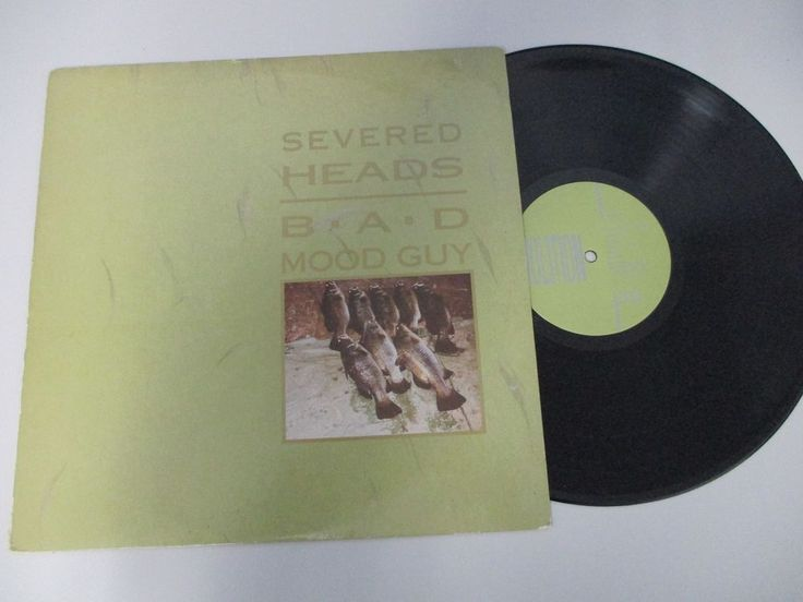 Severed Heads - Bad Mood Guy LP  Sample Record 1987 Oz VOLT TEN  #ElectroSynth1980s