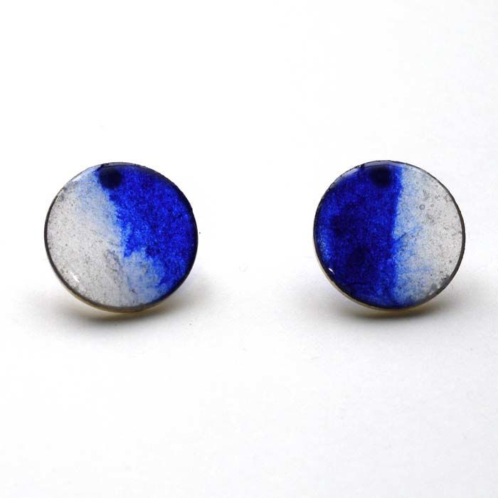 sky ultramarine(片耳用) | lissita japanese paper(Washi) jewelry