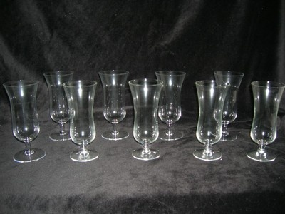 Won More Vintage Tulip Champagne/Wine Glasses