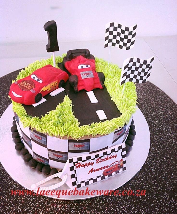 Cars cake for little boys
