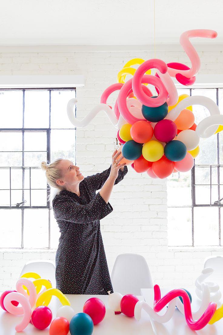 The 25 best balloon chandelier ideas on pinterest for Balloon chandelier decoration