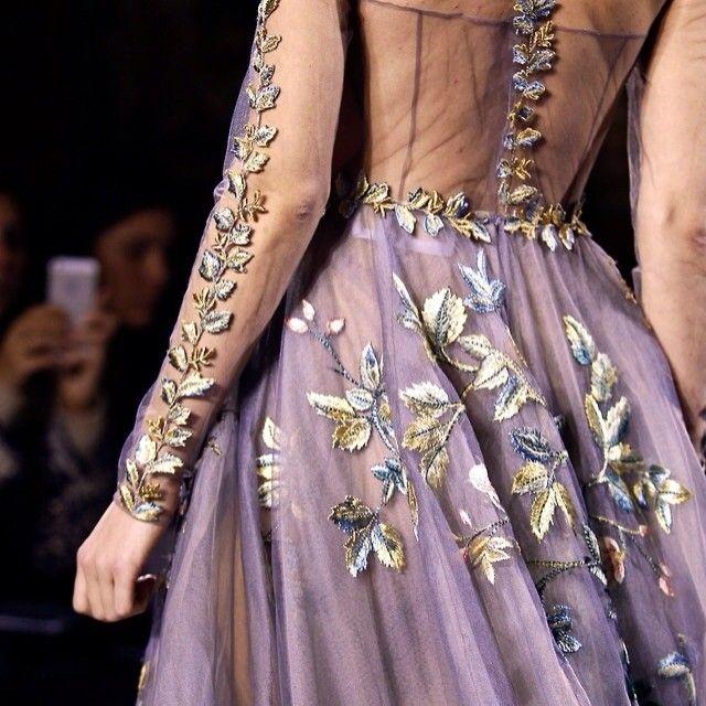valentino #haute #hautecouture #pfw #details #gown