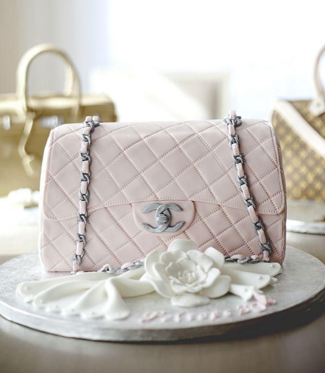 Chanel bag cake  www.javierfdiaz.com