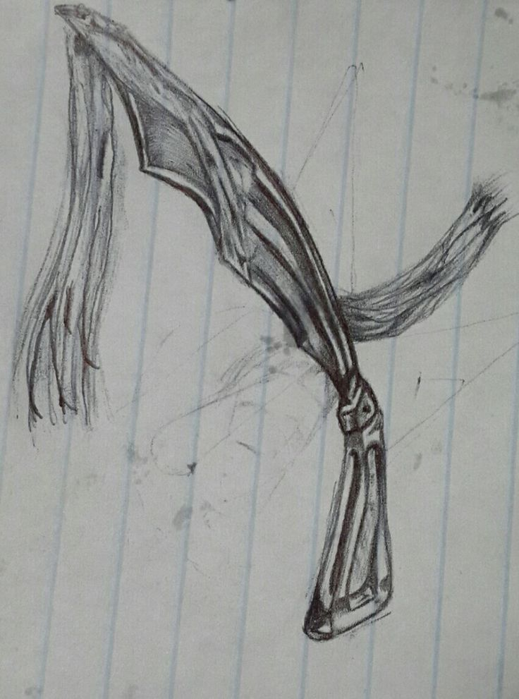 Dagger forged in ink