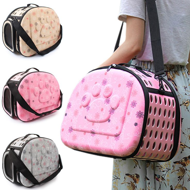 42*26*32cm EVA Foldable Pet Carries Bags For Small Dogs Singles Portable  Breathable