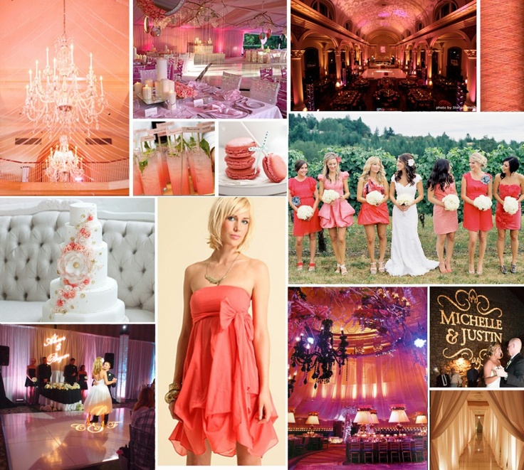 Coral Wedding Reception Ideas: 72 Best Wedding Colour Theme Coral & Teal Images On