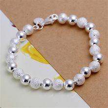 8 М Свет Песка бисера посеребренная браслеты новые объявления высокомарочным ювелирные изделия Рождественские подарки(China (Mainland))