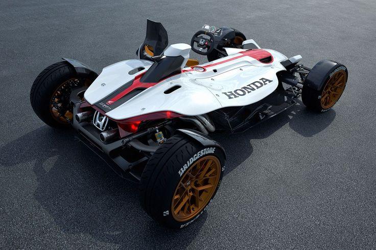 Honda Project 2 & 4 Automobile Shows Back Photos